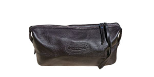 Dapper and Hyde Leather Groom Bag Toilet Bag
