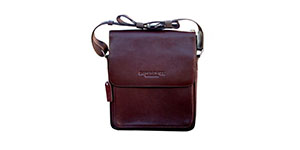 Dapper and Hyde Leather Satchel